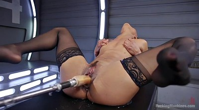 Machine, Fucking machine, Squirting orgasm, Squirt machine, Pussy liking, Machine squirt