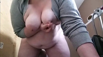 Solo bbw, Riding dildo