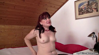 Old mom, Wife fucked, Mom and young, Granny fucking