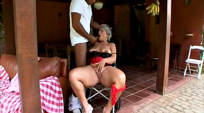 Interracial bbw, Mature bbw, Granny black