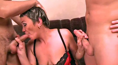 Mom boy, Mature and boy, Mom and boy, Young boy, Mature gangbang, Mom gangbang