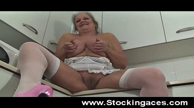 Mature solo, Granny solo, Big tits solo, Open, Hairy granny, Spread wide
