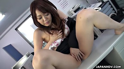 Japanese office, Asian masturbation