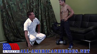Young blowjob, Gay officer