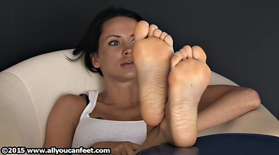 Nylon feet, Nylons, Foot tease
