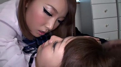 Japanese lesbian, Kiss, Teen skirt, Kisses, Japanese teen lesbian, Tongue kissing