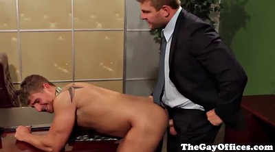 Punishment, Punished, Officer, Gay office, Gay hard