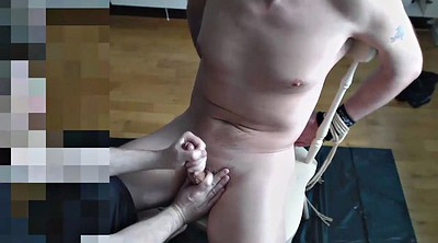 Bondage, Milking, Gay bondage, Gay foot, Big milk, Foot tease