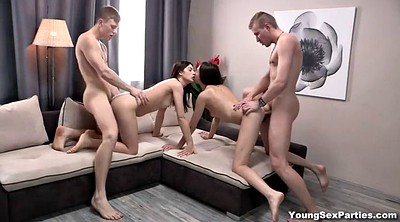 Orgy, Swap, Swapping, Russian young, Swingers orgy