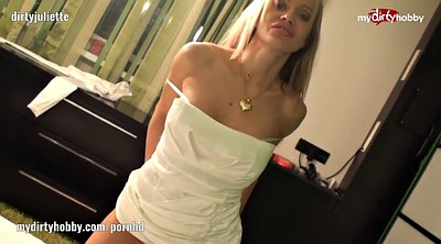 Blond, Shy, Hidden masturbation