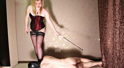 Spanked, Slave foot, Busted