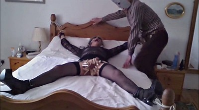 Spank gay, Clothed, Blindfolded