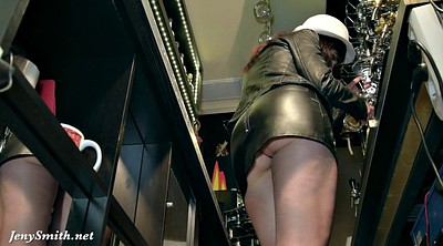 Upskirt, Flashing, Jeny smith