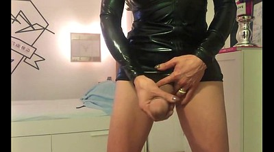 Latex, Shemale on shemale, Amateur shemale, German trans, German shemale, German latex