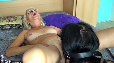 Lesbian strapon, Older lesbian, Old and young