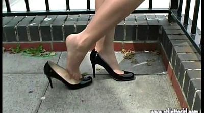 Hot, Foot high, Nylon foot, Nylon fetish, Leggy