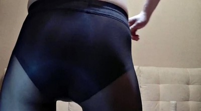 Aunt, Running, Run, Gay pantyhose