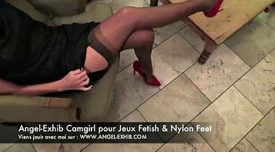Nylon, Leggings, Nylon feet, Feet nylon