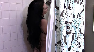 Chubby, Bbw solo, Peep, Shower masturbation, Peeping