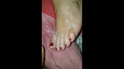Feet fetish, Cum on feet, Sexy feet, Wife feet, Toes, Bbw feet