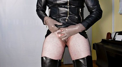 Leather, Glove, Gloves, Handjobs, Dress, Gay leather