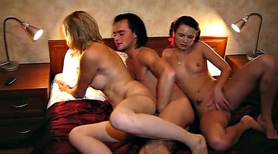 Threesome party, Threesome amateur