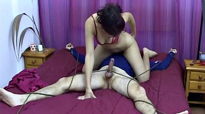 Male, Abused, Mistress handjob