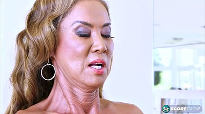 Asian mature, Mature asian, Big tit cumshot, Asian milf