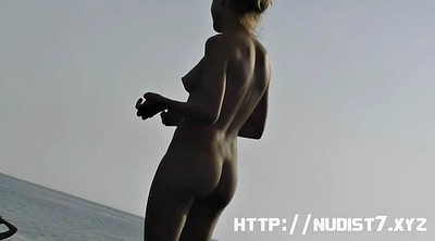 Teen compilation, Nudist, Hidden camera, Hidden beach