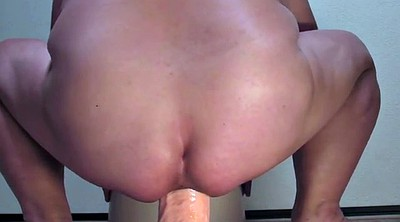 Monster, Julie, Bbw dildo, Bbw big dildo, Bbw toy, Dildo ride