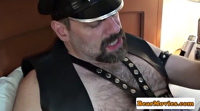 Leather, Bear, Mature hairy