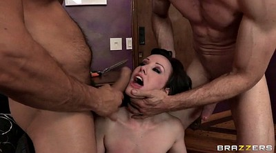 Double cock, Two girl, Jennifer white