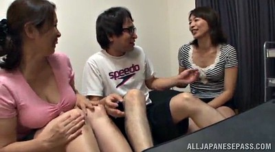 Asian mature, Threesome asian