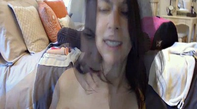 Webcam orgasm, Big tits solo
