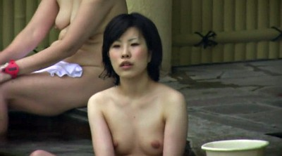 Nude, Spa, Sauna, Japanese young, Japanese voyeur, Young japanese