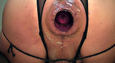 Gaping pussy, Dildo riding, Gape pussy