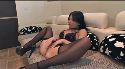 Stockings anal, Interracial stockings