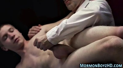 Uniform, Mormon, Gay spank