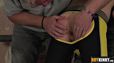 Spanking gay, Whipping, Uncut