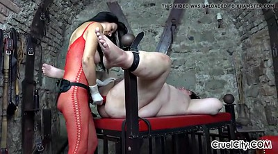 Strap, Strap on, Huge ass, Slaves, Huge strapon