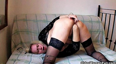 Short hair, Mature solo, Short, Solo mature, Pussy fisting, Granny solo