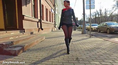Public outdoor flash, Outdoor flash, Pantyhose public