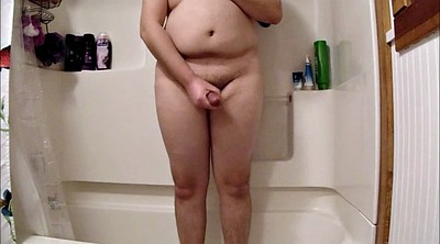 Standing, Shower masturbation
