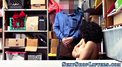 Shoplifter, Shoplifting, Latina amateur