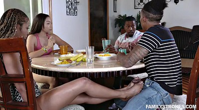 Family, Group-orgy, Foursome, Teen feet, Family sex, Adrian maya