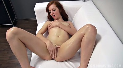 Solo masturbation, Huge dildo, Cast