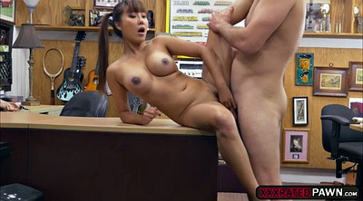 Money, Asian handjob, Tiffany