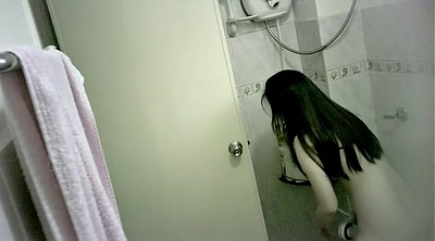 Chinese, Young cam, Hidden shower