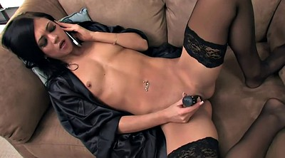 Phone, Nylon masturbation, On the phone