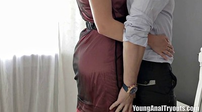 Big dick, Young threesome